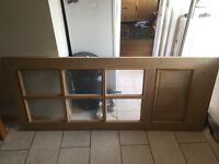 Premdor Wessex Oak 6 Panel Glazed Door