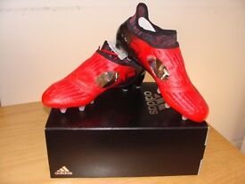 Mens Adidas X 16+ Purechaos FG UK 8 Brand new in Box *Limited Edition*