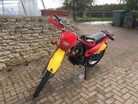 Road legal trials bike 200cc