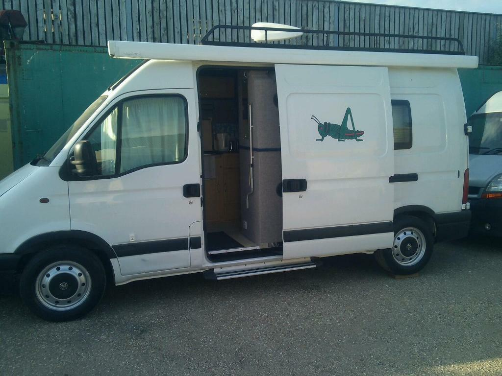 Vauxhall Movano Campervan In Dorchester Dorset Gumtree