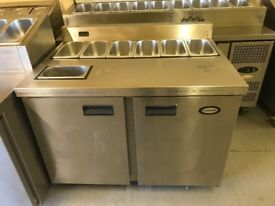 CATERING COMMERCIAL PIZZA TOPPING FRIDGE MEZE BAR CHICKEN KEBAB BBQ SHOP EQUIPMENT TAKE AWAY SHOP