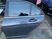 Mercedes C Class W204 2012 Passenger Rear Door