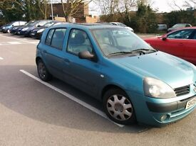 Renault Clio 2005 low mileage