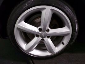 Audi alloys with tyre