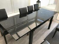 Extending Dining Table & Chairs