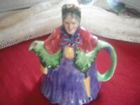 "TEAPOT- VINTAGE ""LITTLE OLD LADY"", MADE IN ENGLAND"