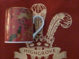 BRAND NEW – HIGHGROVE Winter Garden mug + bag - Royal gift