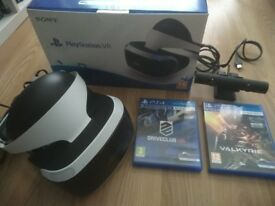 PSVR, camera & 2 games