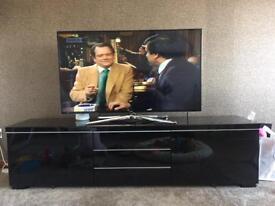Black tv unit