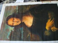 Mona Lisa oil Painting on canvas. (not a print)