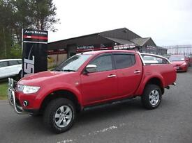 MITSUBISHI L200 WARRIOR LB DCB DI-D (red) 2012