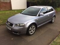 Audi A3 1.6 Sport 3dr, 6 MONTHS FREE WARRANTY, SAT NAV, FULL SERVICE HISTORY