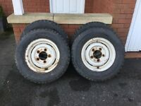 Landrover Wheels & Tyres set of four
