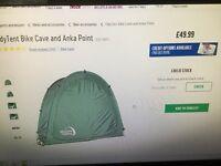Bike tent/cave