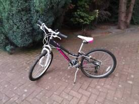 Girls 24 inch wheel pedal cycle