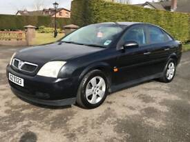 Good tight 2003 Vauxhall Vectra 1.8 LS 5dr ,long mot,4 x new tyres, credit cards accepted