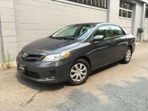 2013 Toyota Corolla CE! Only 79000kms! No Accidents!! Local!!