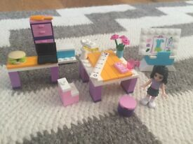 Lego Friends Emma's Design Studio Set 3936