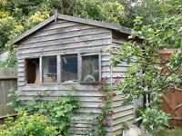 Shed in need of minor repair, buyer to dismantle. Waiting for it to go, I will remove this ad then