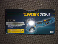 WORKZONE ROLLING SANDER 310W BRAND NEW NEVER USED