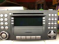 ORIGINAL MERCEDES SLK 2007-2011 MODEL STEREO RADIO/CD PLAYER SYSTEM