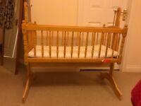 Baby Swinging Crib - SOLD NOW