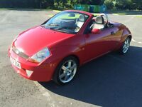 !!!! FORD STREETKA CONVERTIBLE LUXURY MODEL WITH 12 MONTHS M.O.T!!!!