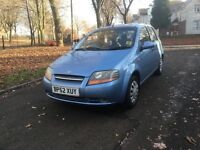 "2003 (52) DAEWOO KALOS SE 5DR 1.4 PETROL ""DRIVES VERY GOOD + CHEAP TO INSURE + IDEAL FIRST CAR"""
