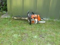Stihl MS 260 chain saw