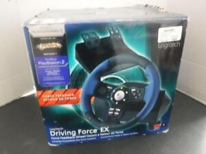 Logitech Driving Force For PS2 E-UL13. We Buy and Sell Used Video Games and Consoles. 115618