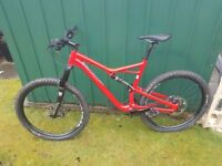 Mountain Bike,Specialized Camber FSR 2017 with mods. * 695 final LOWER PRICE*