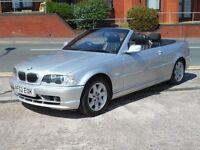 52 BMW 320 CI CONVERTIBLE + AUTO + LEATHER