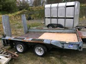 Various plant & tipping trailer