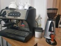 Single Group Espresso Machine & Grinder
