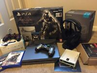 Ps4 gaming scuf bundle gaming router + extras