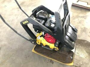 Bomag 25/50 with paver pad
