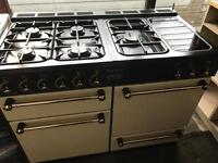 Rangemanster gas cooker and electric ovens 110cm