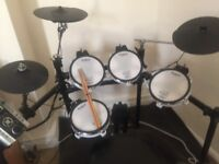 Roland TD-9 V DRUMS With Mesh Pads Electronic Set, Rubber Matt, Seat, Midi Cable