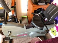Life cycle 9100 ❤️ Recumbent exercise bike with digital output