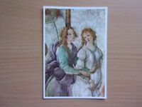 BOTTICELLI, V. 1445-1510. PRINTED IN FRANCE. UNUSED COLOUR POSTCARD IS IN VERY GOOD CONDITION.