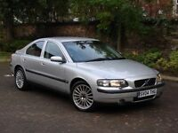 EXCELLENT EXAMPLE!!! 2004 VOLVO S60 2.5T SE 4dr AUTO, FSH, EX POLICE CAR, FULL LEATHER, 1 YEAR MOT