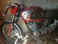 Suzuki T20 1969 250cc super 6 (unfinished project)