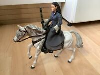 Lord of the Rings Arwen with her Horse