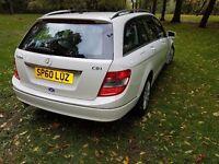 Mercedes benz for sale c 220 estate white.