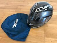 Shark motorbike helmet nearly new