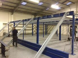 MEZZANINE FLOORS FLOORING USED GREAT CONDITION GET MORE SPACE FOR LESS ! NAT WIDE ALL SIZES TO SUIT