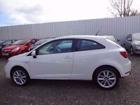 SEAT Ibiza Toca 1.4 SportCoupe 3d, excellent condition, 64 reg plate