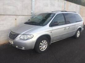 Chrysler grand Voyager 3.0D 'stow and go'