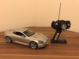 Aston Martin DBS remote control car.
