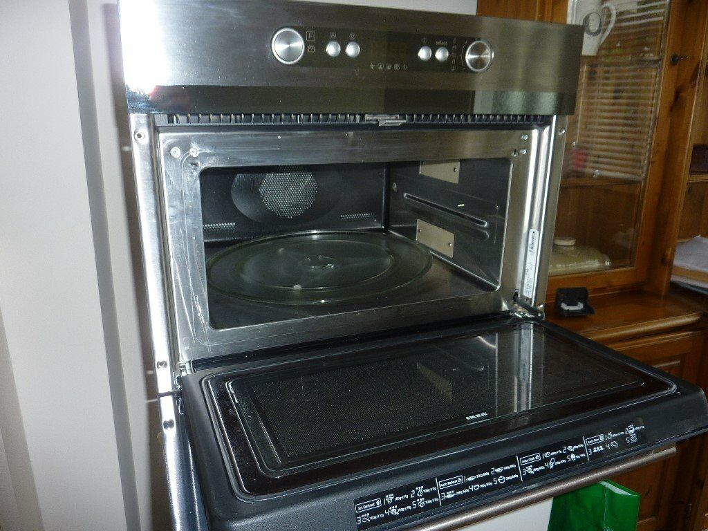 Integrated multi functional electric oven microwave ikea for Microwave table ikea